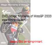 Bild vom Artikel DVD: Magic Moments of MotoGP 2003