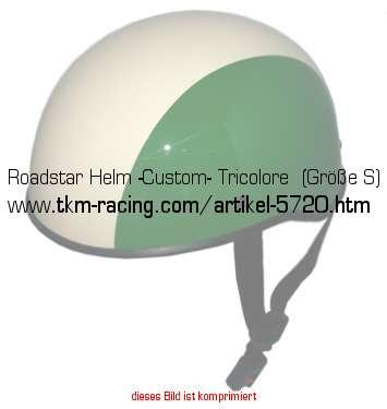 roadstar helm custom tricolore gr e l in. Black Bedroom Furniture Sets. Home Design Ideas