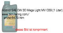 Bild vom Artikel Addinol SAE 0W-30 Mega Light MV 039 (1 Liter)