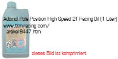Bild vom Artikel Addinol Pole Position High Speed 2T Racing-Oil (1 Liter)